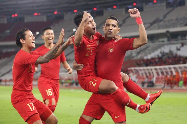 Timnas mencetak gol